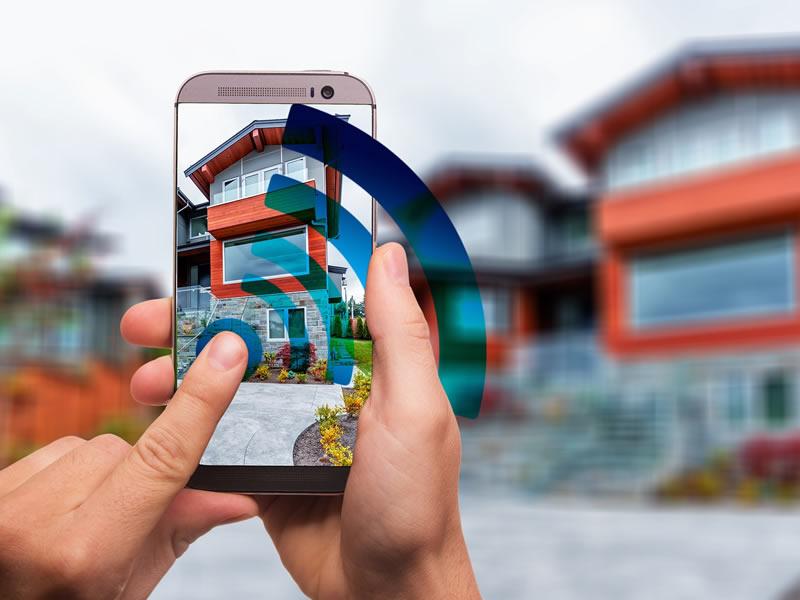 con il proprio smartphone è possibile controllare le basculanti elettriche anche a bergamo