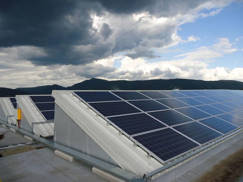 impianto fotovoltaico installato da elettroimpianti delta