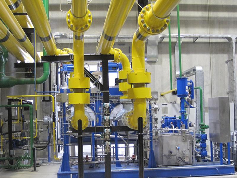impianto oil e gas realizzato da elettroimpianti delta